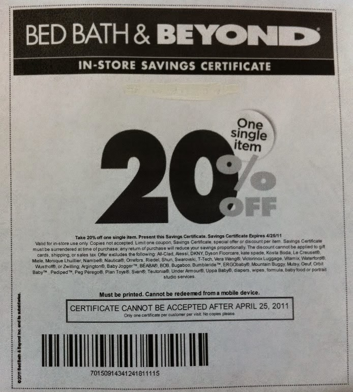 bed bath and beyond printable coupon 2015 free printable coupons bed bath and beyond coupons 20574 | printable Bed Bath and Beyond coupons 20% coupon code